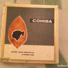 Cajas de Puros: ANTIGUA CAJA DE PUROS LANCEROS COHIBA , CUBA , VACIA. Lote 186445833