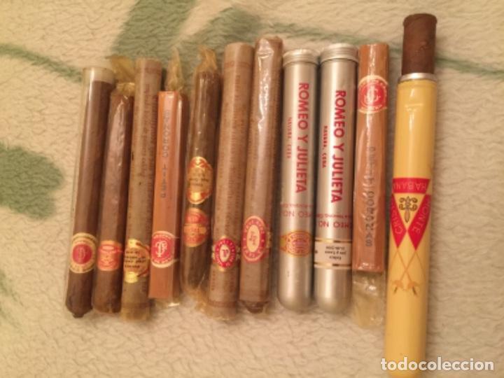 LOTE DE PUROS CUBANOS , CUBA (Coleccionismo - Objetos para Fumar - Cajas de Puros)