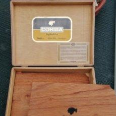 Cajas de Puros: CAJA DE PUROS COHIBA VACIA. Lote 187304031
