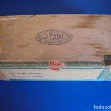 Cajas de Puros: (TA-191250)CAJA LA FLOR DE CANO - 100 POPULARES - HABANA - CUBA. Lote 187494083