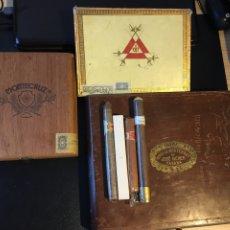 Cajas de Puros: LOTE CAJAS DE PUROS Y JOSE GENER Y MONTECRISTO. Lote 187783147