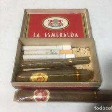 Cajas de Puros: R80. LOTE PURO PUROS CIGARRILLOS CIGARRILLOS DISTINTAS MARCAS. Lote 187906518