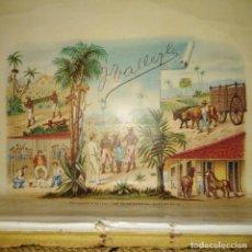 Cajas de Puros: ANTIGUA CAJA DE PUROS, REAL FÁBRICA DE TABACOS, SIGLO XIX. Lote 218347205