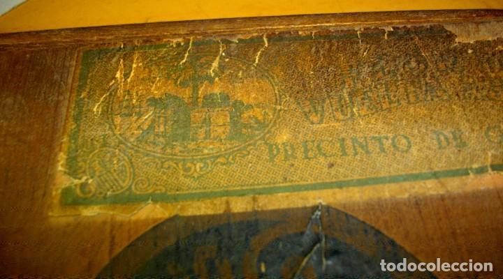 Cajas de Puros: EXCLUSIVA Caja de Puros Havanos 1875 LA FLOR DE CARUNCHO (vacia ) SELLO Imperio ESPAÑOL - Foto 2 - 114324099