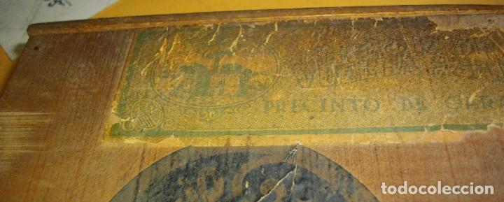 Cajas de Puros: EXCLUSIVA Caja de Puros Havanos 1875 LA FLOR DE CARUNCHO (vacia ) SELLO Imperio ESPAÑOL - Foto 3 - 114324099