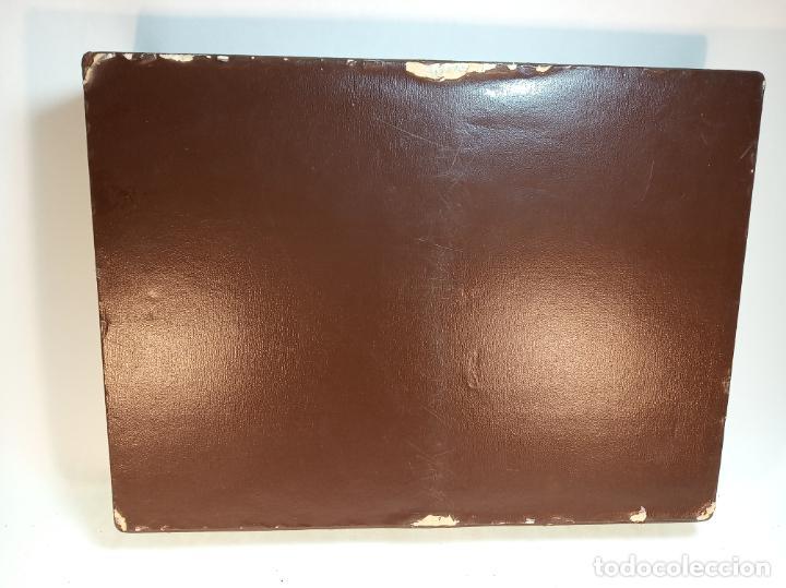 Cajas de Puros: GRAN CAJA DE PUROS EN MADERA FORRADA DE PIEL O SIMIL - NUMEROSOS COMPARTIMENTOS - Foto 6 - 189425865