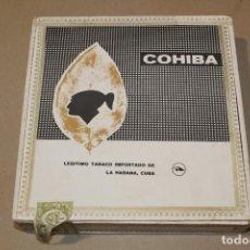 Cajas de Puros: COHIBA - CAJA DE PUROS LANCEROS - LA HABANA (CUBA) . Lote 189953368