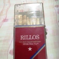 Cajas de Puros: CAJA RILLOS PURITOS FILTRO CON 8 PURITOS PRECINTADOS. Lote 190546061