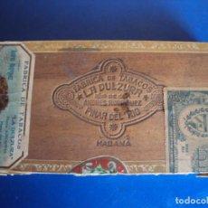 Cajas de Puros: (TA-200103)CAJA FABRICA DE TABACOS LA DULZURA DE ANDRES RODRIGUEZ - PINAR DEL RIO - HABANA. Lote 190709632
