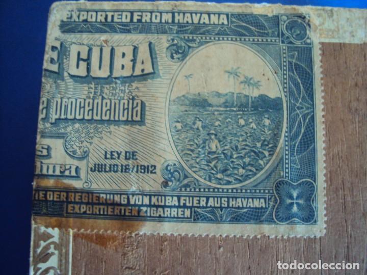 Cajas de Puros: (TA-200103)CAJA FABRICA DE TABACOS LA DULZURA DE ANDRES RODRIGUEZ - PINAR DEL RIO - HABANA - Foto 7 - 190709632