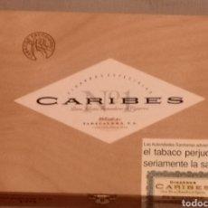 Cajas de Puros: CAJA DE PUROS SIN ABRIR!! 25 PUROS CARIBES N°1. Lote 190766605