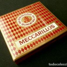 Cajas de Puros: MECCARILLOS - ANTIGUA CAJA DE PUROS SUIZA - 20 ORMOND SUMATRA - MAD. IN SWITZERLAND. Lote 190861736