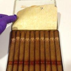 Cajas de Puros: CAJA DE PUROS DON MIGUEL-10 PURITOS DON MIGUEL TABACO ELABORADOS POR INTASA DE LAS ISLAS CANARIAS. Lote 190869418