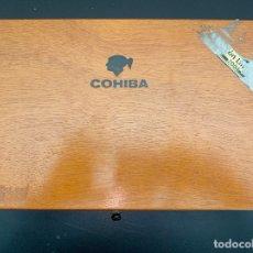 Cajas de Puros: 2 CAJAS DE PUROS VARIAS COHIBA. Lote 190979187
