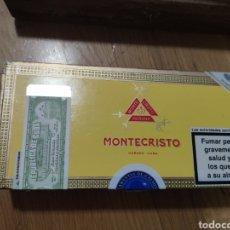 Cajas de Puros: CAJA DE PUROS HABANOS, MONTECRISTO, TUBOS VACÍAS. Lote 191025395