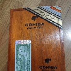 Cajas de Puros: CAJA DE PUROS HABANOS, COHIBA. Lote 191025535