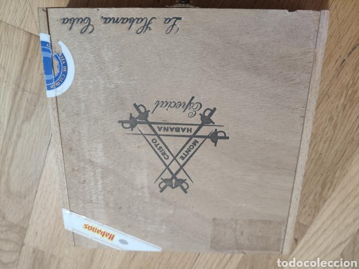 CAJA DE PUROS HABANOS, MONTECRISTO, COHIBA (Coleccionismo - Objetos para Fumar - Cajas de Puros)