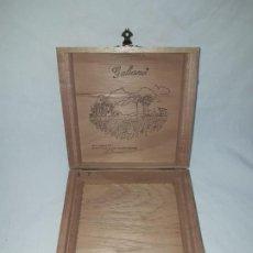 Boîtes de Cigares: ANTIGUA CAJA DE MADERA PUROS GALIANO REPÚBLICA DOMINICANA. Lote 191064477