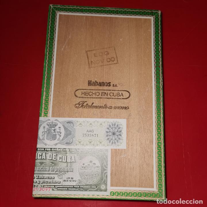Cajas de Puros: caja de Puros vacia Habanos La Flor de Cano - Foto 5 - 191137478