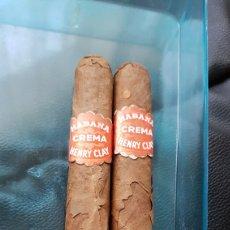 Cajas de Puros: 2 PUROS HENRY CLAY HABANA. Lote 191161836