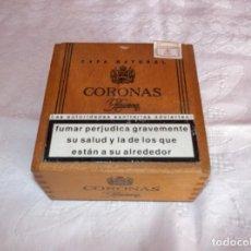 Cajas de Puros: CAJA DE MADERA DE CIGARROS CORONAS-RESERVA. Lote 191180143