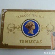 Cajas de Puros: ANTIGUA CAJA DE PUROS TENISCAS TABACOS TENISCA- ISLAS CANARIAS, VACIA. Lote 191390577