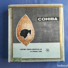 Cajas de Puros: 5 PUROS COHIBA LANCEROS. Lote 191507130