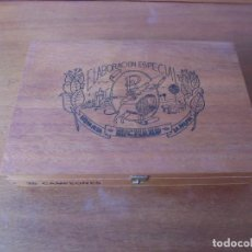 Cajas de Puros: CAJA DE PUROS VACÍA. 25 CAMPEONES. RICHARD. BREÑA ALTA, LA PALMA. ISLAS CANARIAS. Lote 191660135