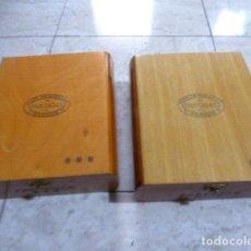 Cajas de Puros: LOTE DE 2 CAJAS DE PUROS. PARTAGAS. Nº 898. BUEN ESTADO. VACIAS.. Lote 191808450