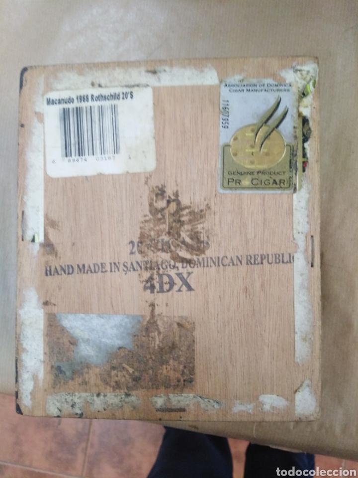 Cajas de Puros: Caja de puros macanudo - Foto 5 - 192320815