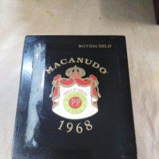 Cajas de Puros: CAJA DE PUROS MACANUDO. Lote 192320815
