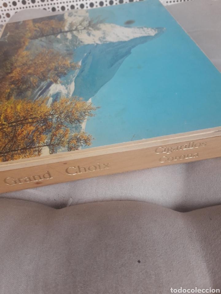 Cajas de Puros: Antigua caja cigarrera, Grand Choix Cigarrillos Corona - Foto 10 - 192715856