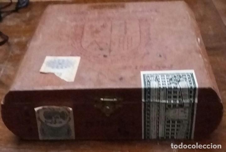 Cajas de Puros: CAJA DE PUROS DE MADERA. COMPAÑIA DE TABACOS DE LAS ANTILLAS,S.A. VACIA. - Foto 3 - 193176736