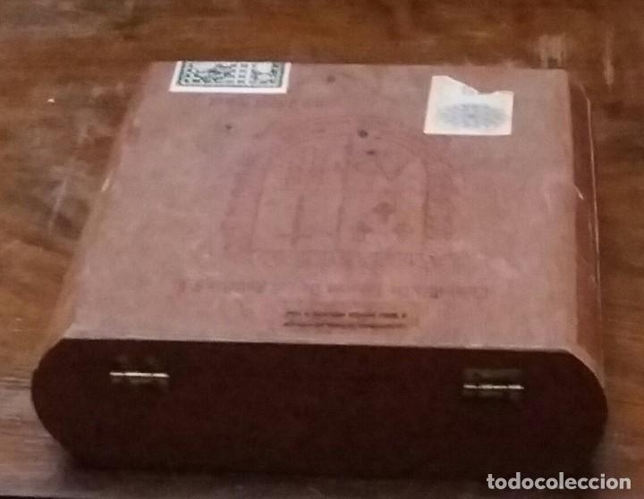 Cajas de Puros: CAJA DE PUROS DE MADERA. COMPAÑIA DE TABACOS DE LAS ANTILLAS,S.A. VACIA. - Foto 5 - 193176736