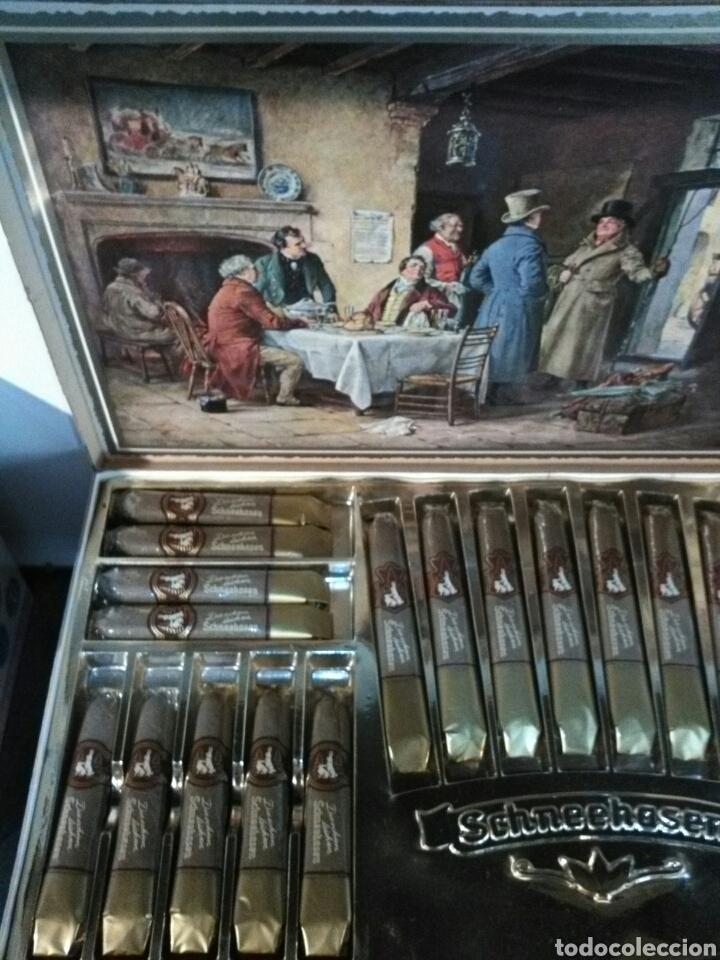 Cajas de Puros: SCHNEENASEN EUROPA ZIGARREN. FRIST QUALITY*MADE IN GERMANY. - Foto 10 - 193226253