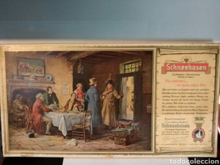 Cajas de Puros: SCHNEENASEN EUROPA ZIGARREN. FRIST QUALITY*MADE IN GERMANY. - Foto 13 - 193226253