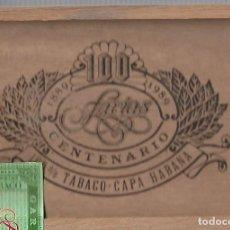 Cajas de Puros: CAJA DE FARIAS CENTENARIO CON 16 UNIDADES. Lote 193810653