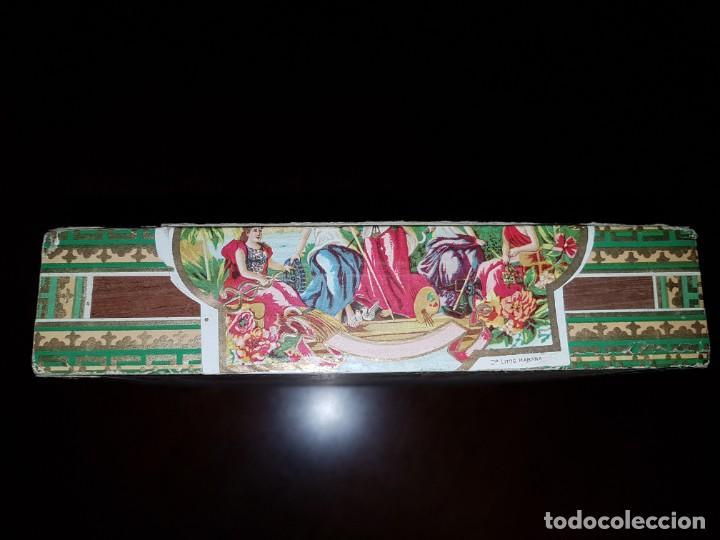 Cajas de Puros: Caja de puros vacía - La Cadenita - Habana - Cuba - Foto 6 - 194198547