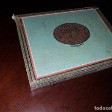 Cajas de Puros: CAJA DE PUROS VACÍA - GISPERT - PINAR DEL RIO - HABANA. Lote 194199085