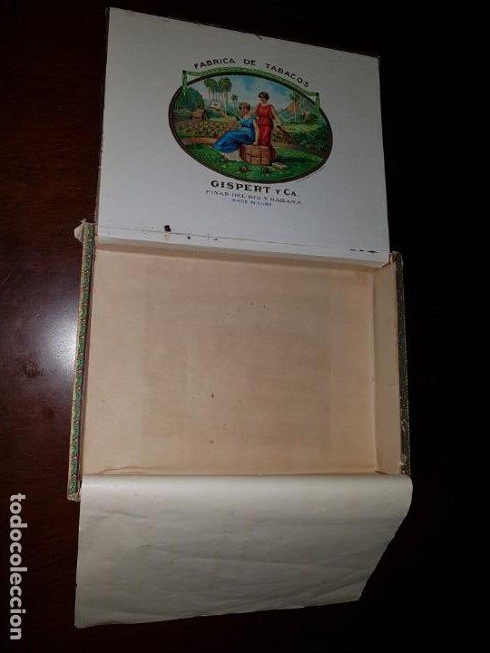 Cajas de Puros: Caja de puros vacía - Gispert - Pinar del Rio - Habana - Foto 11 - 194199085