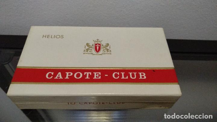 CAJA PURITOS CAPOTE (Coleccionismo - Objetos para Fumar - Cajas de Puros)