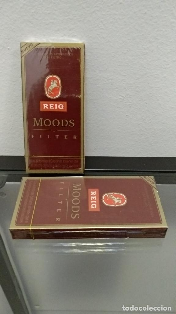 2 CAJAS PURITOS PRECINTADOS REIG MOODS (Coleccionismo - Objetos para Fumar - Cajas de Puros)