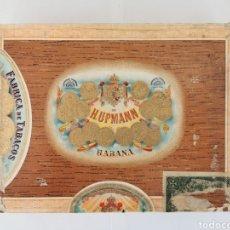 Cajas de Puros: CAJA DE PUROS VINTAGE CUBAN CIGAR BOX H.UPMANN ESPECIALES. Lote 194274901