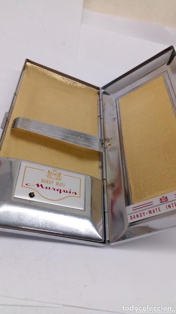 Cajas de Puros: Pitillera Sandy caja de tabaco grabado japonés - Foto 2 - 194310457
