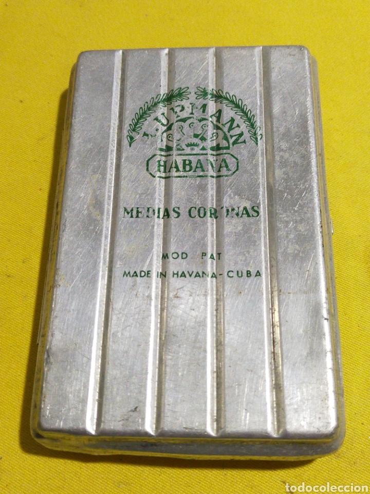 ANTIGUA LATA CAJA H.UPMANN PUROS HAVANA CUBA (Coleccionismo - Objetos para Fumar - Cajas de Puros)