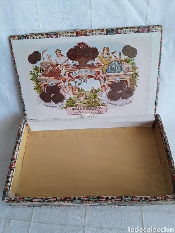 Cajas de Puros: Caja de puros vacia la prueba, caramelos alfonso XIII - Foto 2 - 194400396