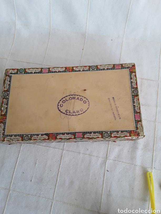Cajas de Puros: Caja de puros vacia la prueba, caramelos alfonso XIII - Foto 3 - 194400396