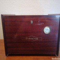 Cajas de Puros: GRAN CAJA HUMIDOR, HUMIFICADOR DE PUROS. Lote 194580902