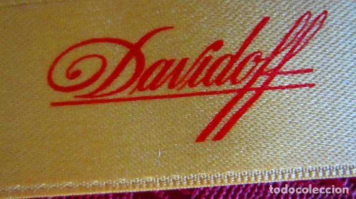 Cajas de Puros: 2 CIGARROS PUROS LA PAZ EN SU ESTUCHE METALICO (ANTIGUOS)+CINTA DAVIDOFF+2ESTUCHES VACIOS - Foto 4 - 194608895