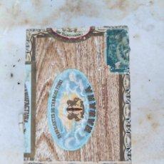Cajas de Puros: CAJA COMPLETA PUROS HABANOS BECK CUBA 25 LONDRES PRE-EMBARGO. Lote 194651835